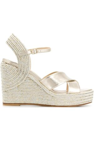 Jimmy Choo Women Wedges - Dellena 100mm espadrille wedges