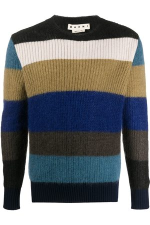 Marni Striped knitted jumper