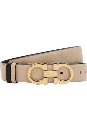 Salvatore Ferragamo Women Belts - 2.5cm Reversible Leather Belt
