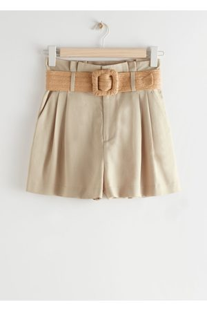 & OTHER STORIES High Paperbag Waist Shorts