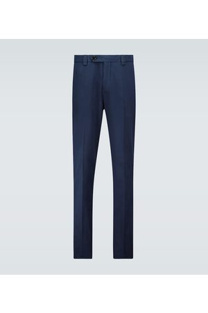Brunello Cucinelli Leisure-fit gabardine cotton pants