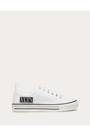 VALENTINO GARAVANI Men Sneakers - Giggies Low-top Fabric Sneaker Man Cotton 100% 40