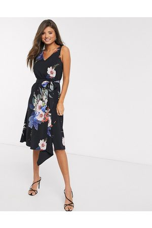 Ted Baker Women Bodycon Dresses - Trinni floral bodycon midi dress