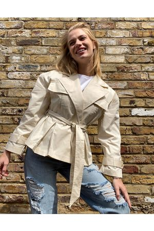 & OTHER STORIES & belted trench jacket in