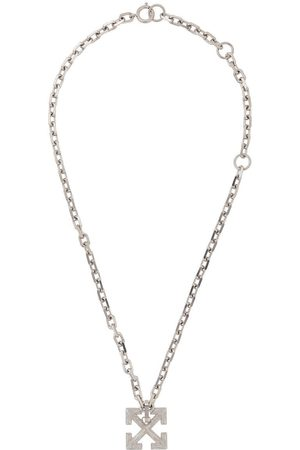 OFF-WHITE Arrow pendant necklace - METAL NO COLOR
