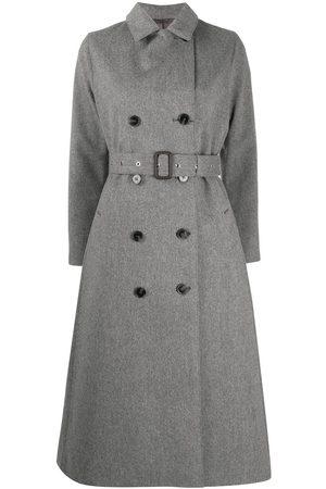 MACKINTOSH Double-breasted wool coat - Grey