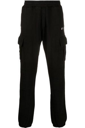 OFF-WHITE New Logo cargo-style track pants