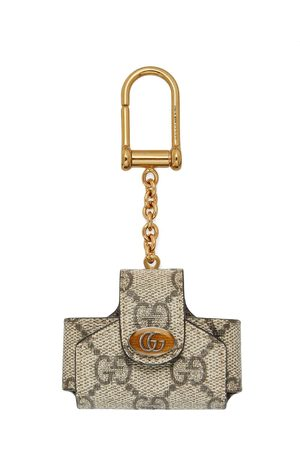 Gucci Women Keychains - Ophidia AirPods pro case - NEUTRALS