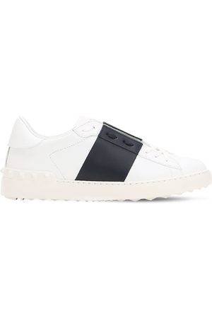 VALENTINO GARAVANI Open Color Block Leather Sneakers