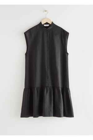 & OTHER STORIES Women Midi Dresses - Relaxed Buttoned Midi Dress