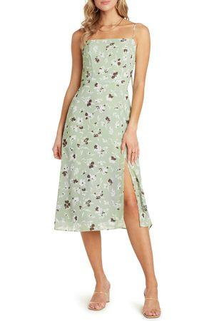 Willow Women's Wendy Spaghetti Strap Midi Dress