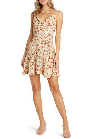 Willow Women's Freddie Cowl Neck Minidress