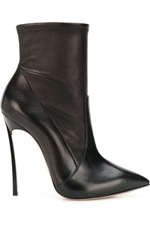 Casadei Women Heeled Boots - Stiletto heel pointed toe boots
