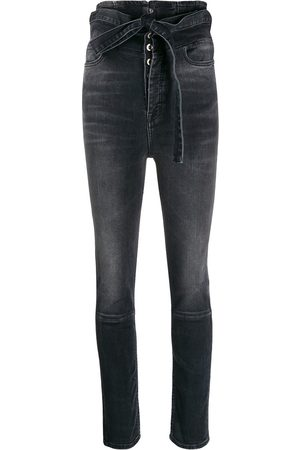 Unravel Project Women High Waisted - High-waist skinny jeans