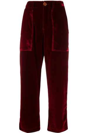 JEJIA High-rise cropped trousers