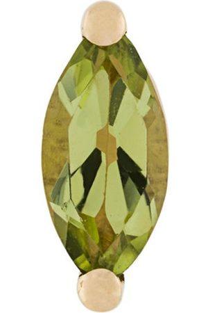 DELFINA DELETTREZ Women Studs - 18kt gold Dots Solitaire peridot earring