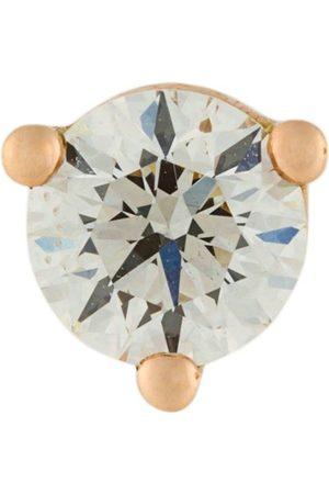 DELFINA DELETTREZ 18kt Dots Solitaire diamond earring - Metallic