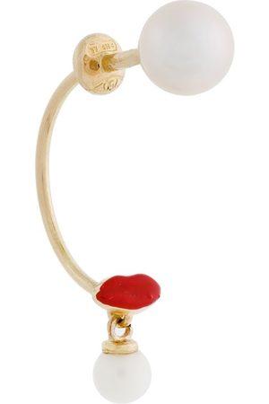 DELFINA DELETTREZ Women Earrings - Lips Piercing earring
