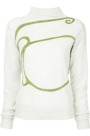 Onefifteen Women Sweaters - Embroidered knit sweater