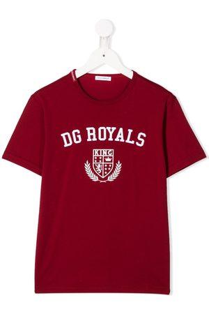 Dolce & Gabbana DG Royals print T-shirt