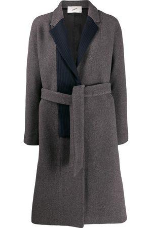 COPERNI Stripe panel coat - Grey