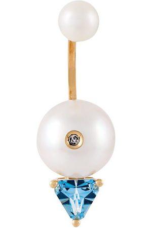 DELFINA DELETTREZ Women Earrings - Trillion' diamond earring