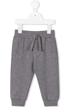 Dolce & Gabbana Logo plaque track pants - Grey