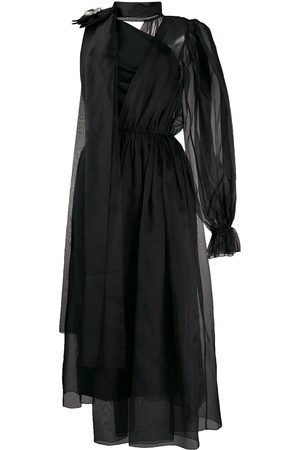 Dolce & Gabbana Women Asymmetrical Dresses - Crystal embellished asymmetric dress