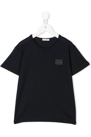 Dolce & Gabbana Boys T-shirts - Logo patch T-shirt