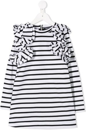 Balmain Girls Casual Dresses - Striped dress