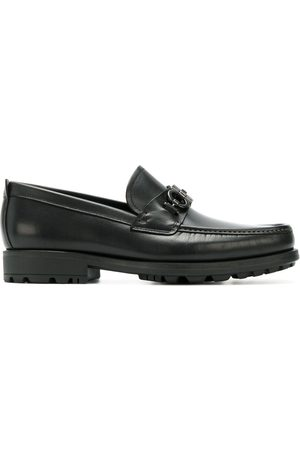 Salvatore Ferragamo Men Loafers - Double Gancio horsebit loafers