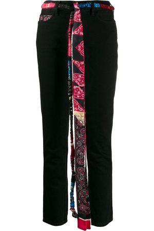 Alanui Women Skinny - Silk bandana skinny jeans