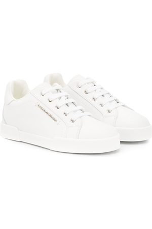 Dolce & Gabbana Logo plaque low top sneakers