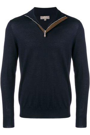 N.PEAL The Regent half-zip jumper