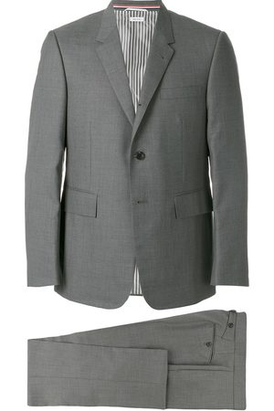 Thom Browne Men Suits - Single-breasted dinner suit - Grey