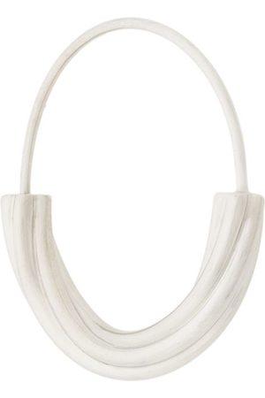 Maria Black Tove small hoop earring - Metallic