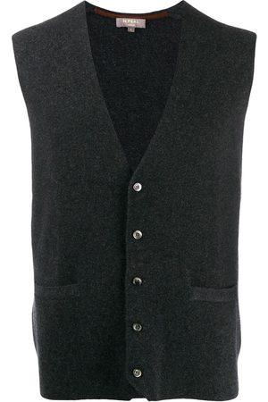 N.PEAL Men Waistcoats - Chelsea Milano waistcoat - Grey