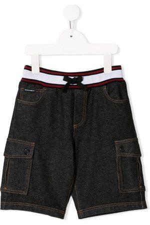Dolce & Gabbana Cargo denim shorts - Grey