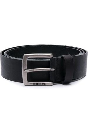 Diesel Men Belts - Logo buckle belt
