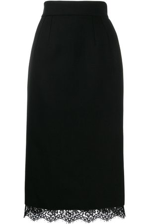 Dolce & Gabbana Women Midi Skirts - Basket weave midi skirt