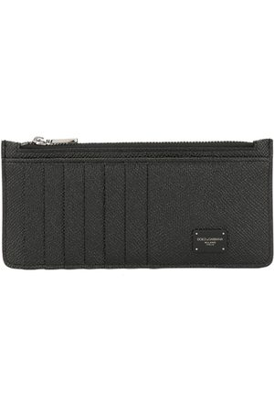 Dolce & Gabbana Men Wallets - Logo zipped wallet