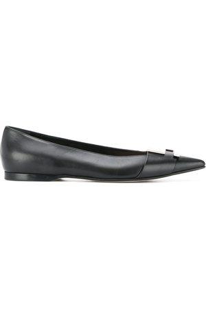 Sergio Rossi Logo Maniac ballerina shoes