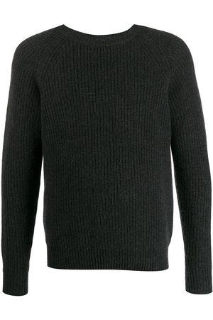 N.PEAL Round neck jumper - Grey