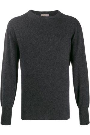 N.PEAL Oxford round neck jumper
