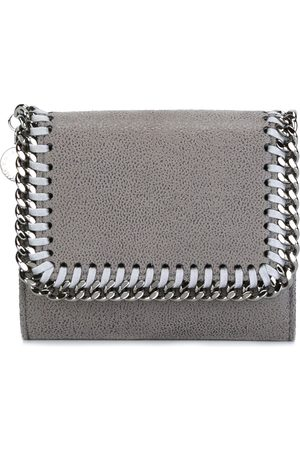Stella McCartney Women Purses - Falabella flap cardholder - Grey