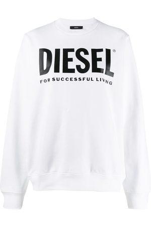Diesel Women Sweatshirts - Logo print sweatshirt