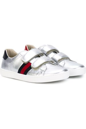 Gucci Sneakers with Web detail - Grey