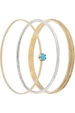 Iosselliani Puro set of three bangles - Grey