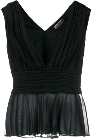 Emilio Pucci Draped sleeveless blouse
