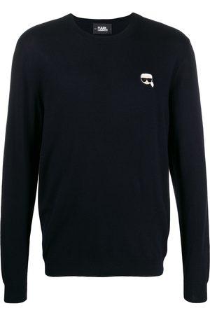 Karl Lagerfeld Karl logo embroidered sweater